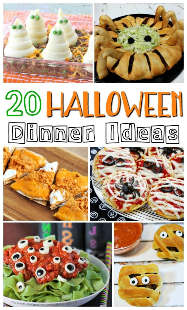Halloween Dinner Ideas For Kids  Halloween Dinner Ideas