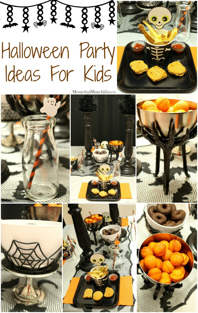 Halloween Dinner Ideas For Kids  Halloween Party Ideas For Kids Moms & Munchkins