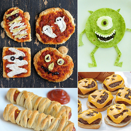 Halloween Dinner Ideas For Kids  Kid Friendly Halloween Dinner