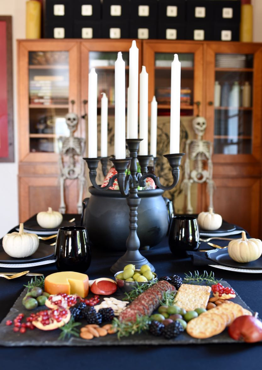 Halloween Dinner Party  Ghoulishly Gothic Halloween Dinner Party Make Life Lovely