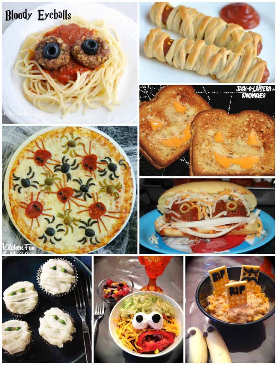 Halloween Dinner Recipes  Monster Sandwiches and Fun Halloween Dinner Ideas