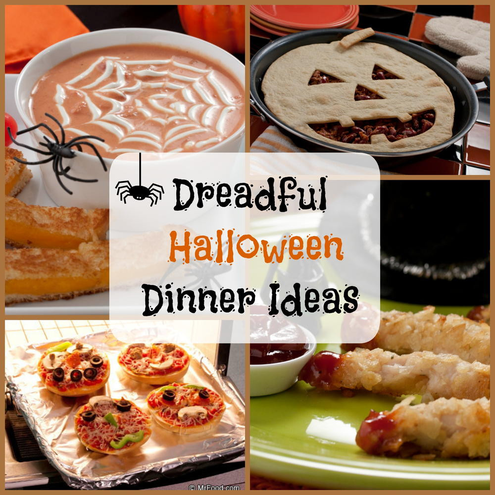 Halloween Dinner Recipes With Pictures  8 Dreadful Halloween Dinner Ideas