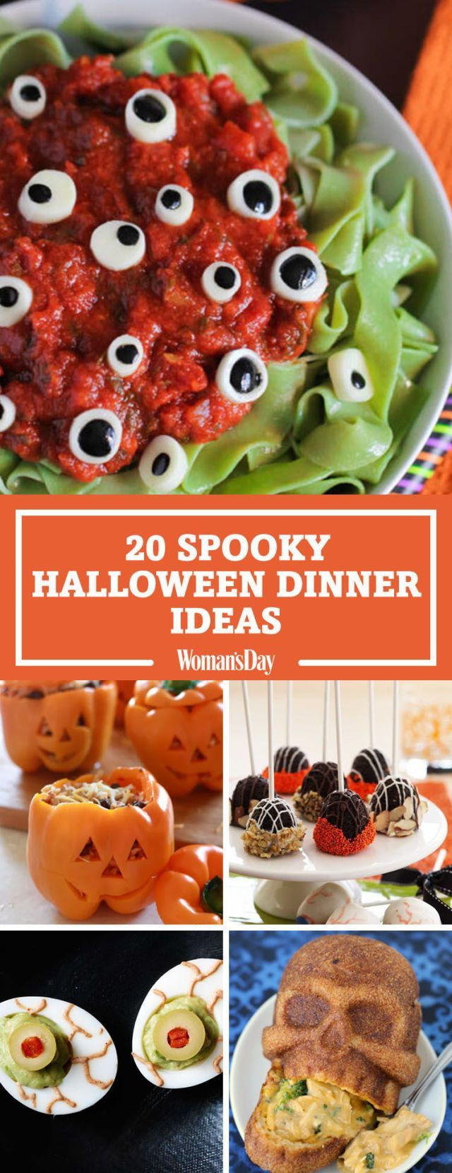 Halloween Dinner Recipes With Pictures  25 Spooky Halloween Dinner Ideas