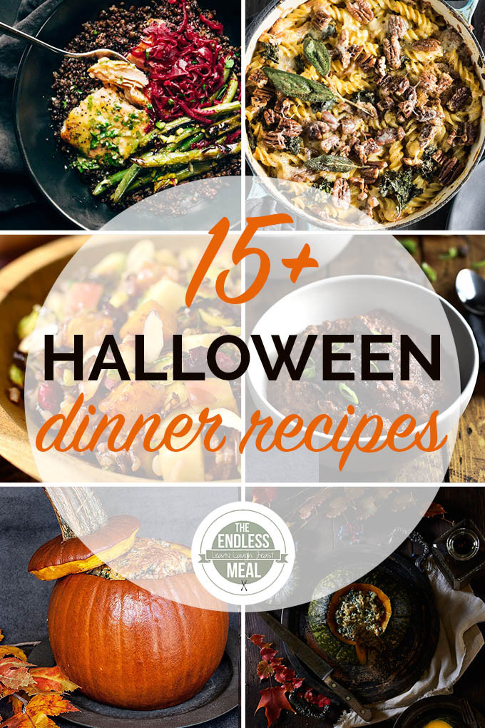 Halloween Dinners For Adults  The 15 Best Healthy Halloween Dinners