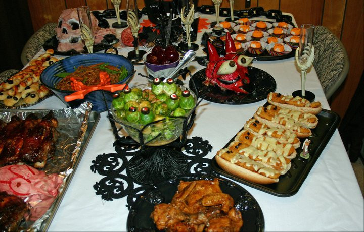 Halloween Dinners For Adults  Jo and Sue Halloween Dinners No tricks but plenty of