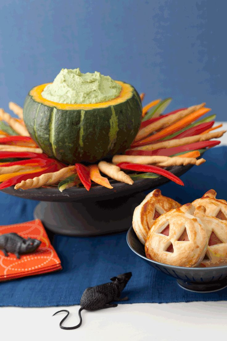 Halloween Dips And Spreads  16 best Halloween Table images on Pinterest