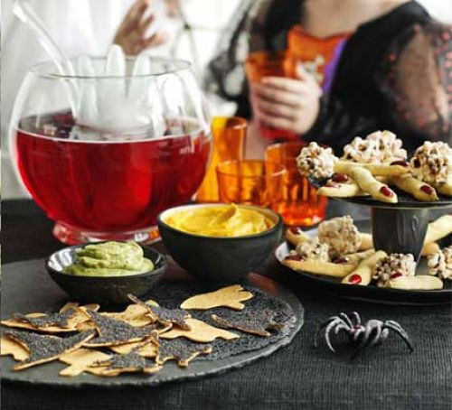 Halloween Dips And Spreads  Halloween dips & bites recipe