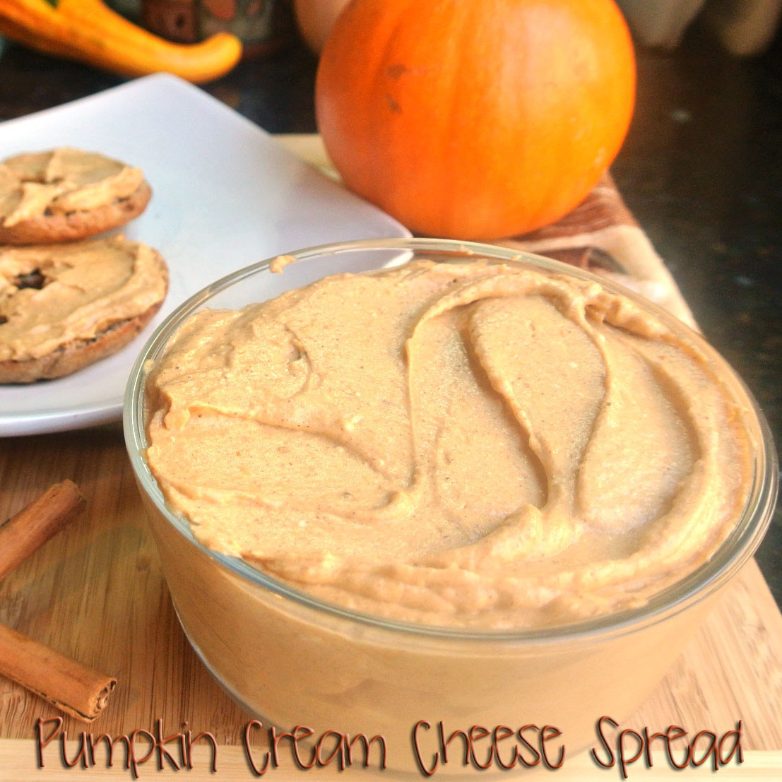 Halloween Dips And Spreads  Mom What s For Dinner Pumpkin Cream Cheese Spread