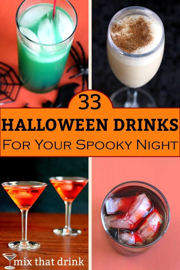 Halloween Drinks Alcohol  33 Halloween drinks for your spooky night