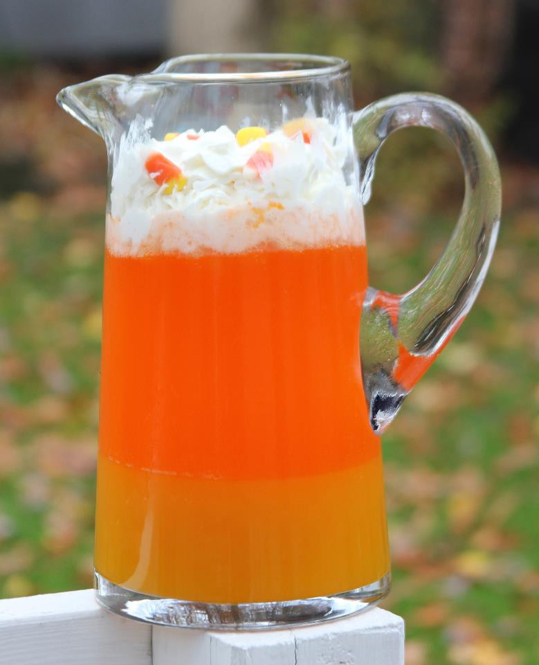 Halloween Drinks Alcoholic  Punkie Pie s Place Candy Corn Punch