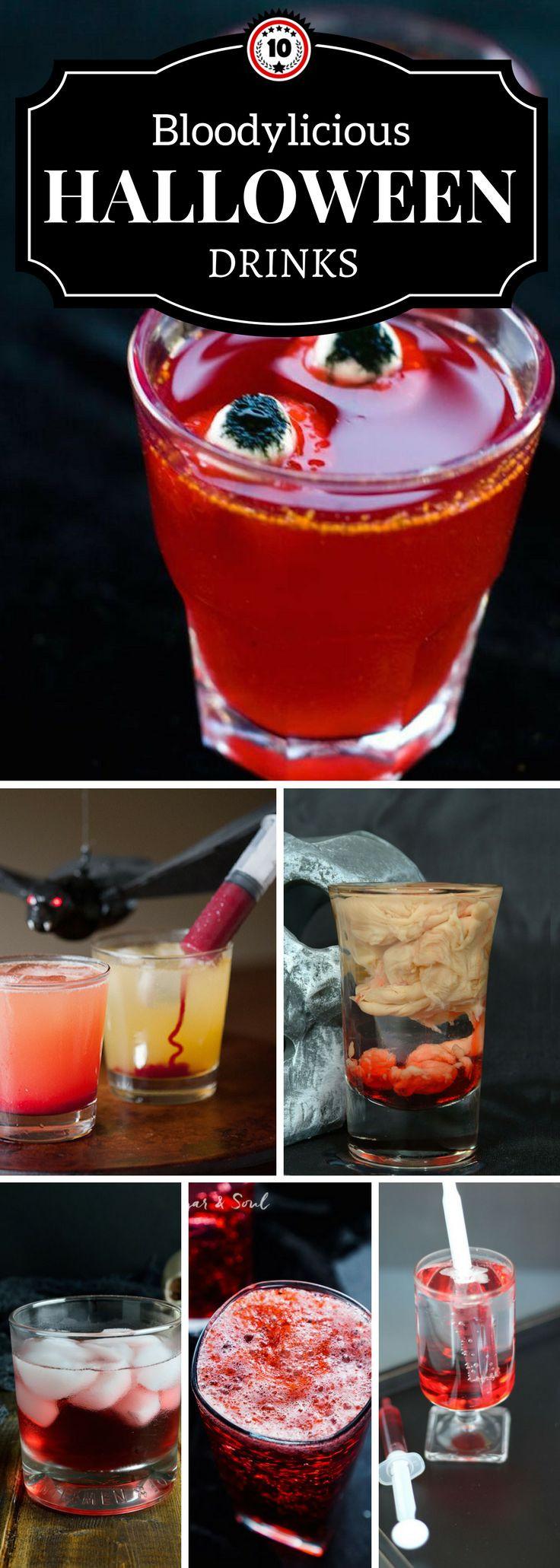 Halloween Drinks Alcoholic  Best 25 Halloween drinks ideas on Pinterest