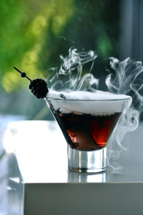 Halloween Drinks With Dry Ice  Halloween Cocktail Ideas Beau coup Blog