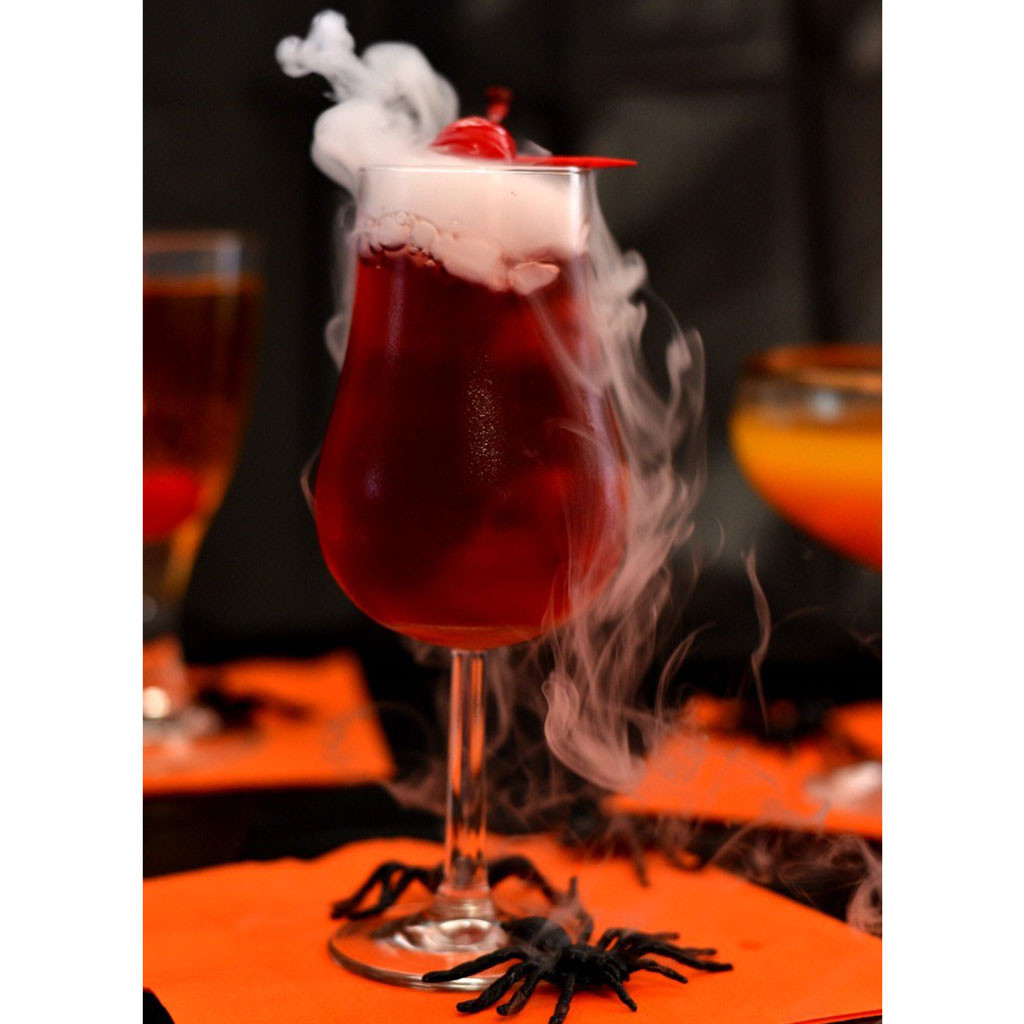 Halloween Drinks With Vodka  These Creepy Halloween Drinks Will Have You Saying 'Booyah