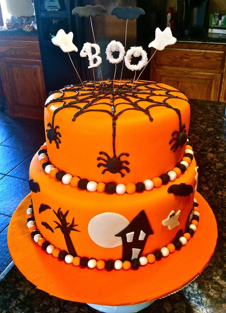 Halloween Fondant Cakes  1000 images about Halloween Cakes on Pinterest