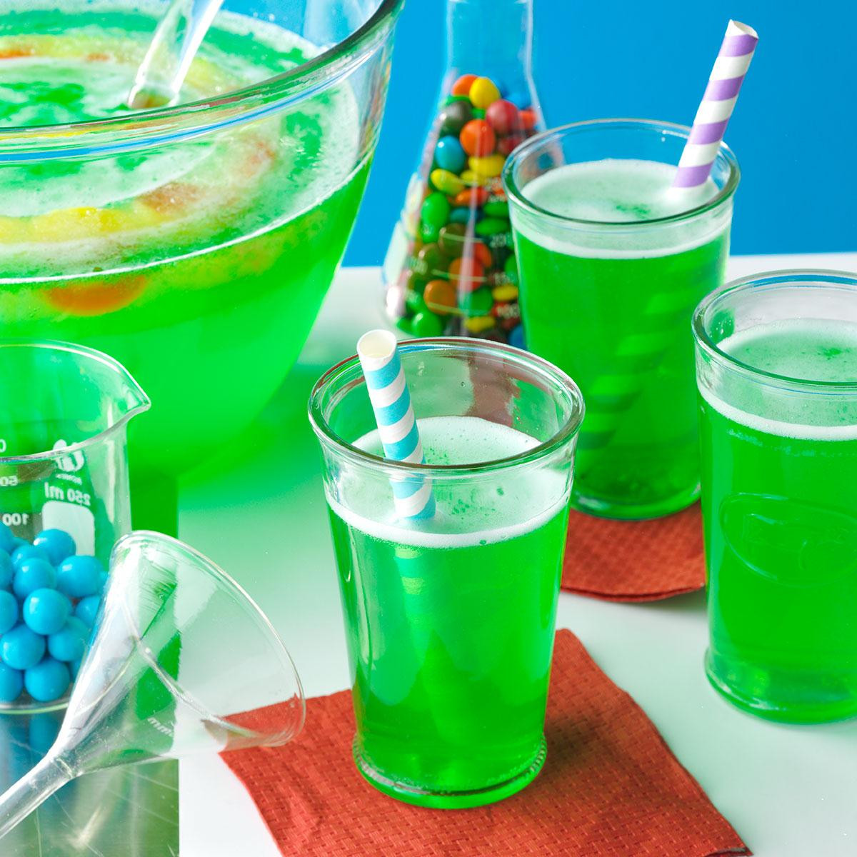 Halloween Foods And Drinks  Magic Potion Punch Recipe