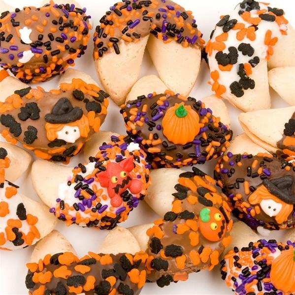 Halloween Fortune Cookies  Halloween Decorated Gourmet Fortune Cookies