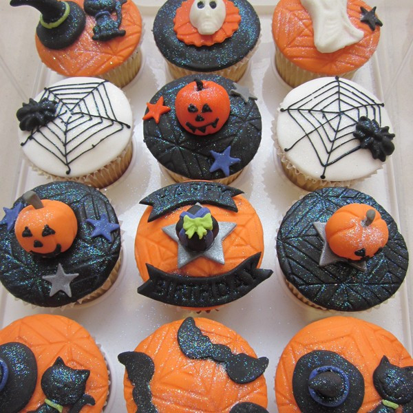 Halloween Inspired Cupcakes  Neo Cakes