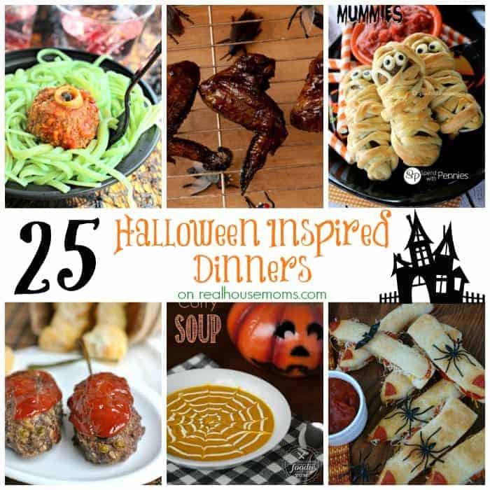 Halloween Inspired Dinners  25 Halloween Inspired Dinners Real Housemoms