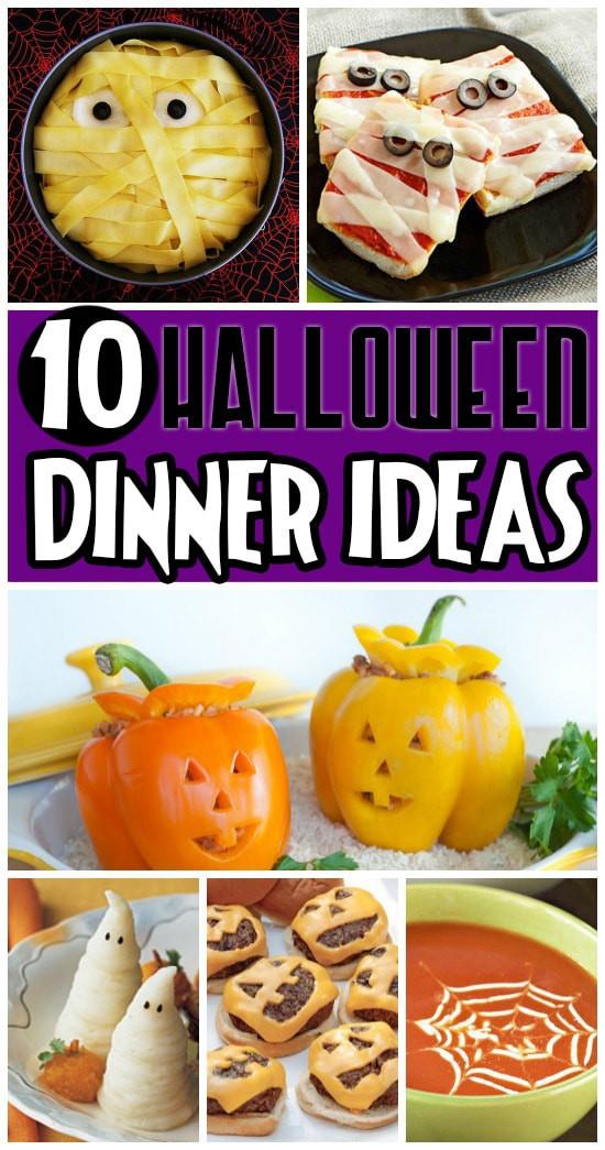 Halloween Inspired Dinners  50 FUN Halloween Foods Halloween Themed Food for Every Meal