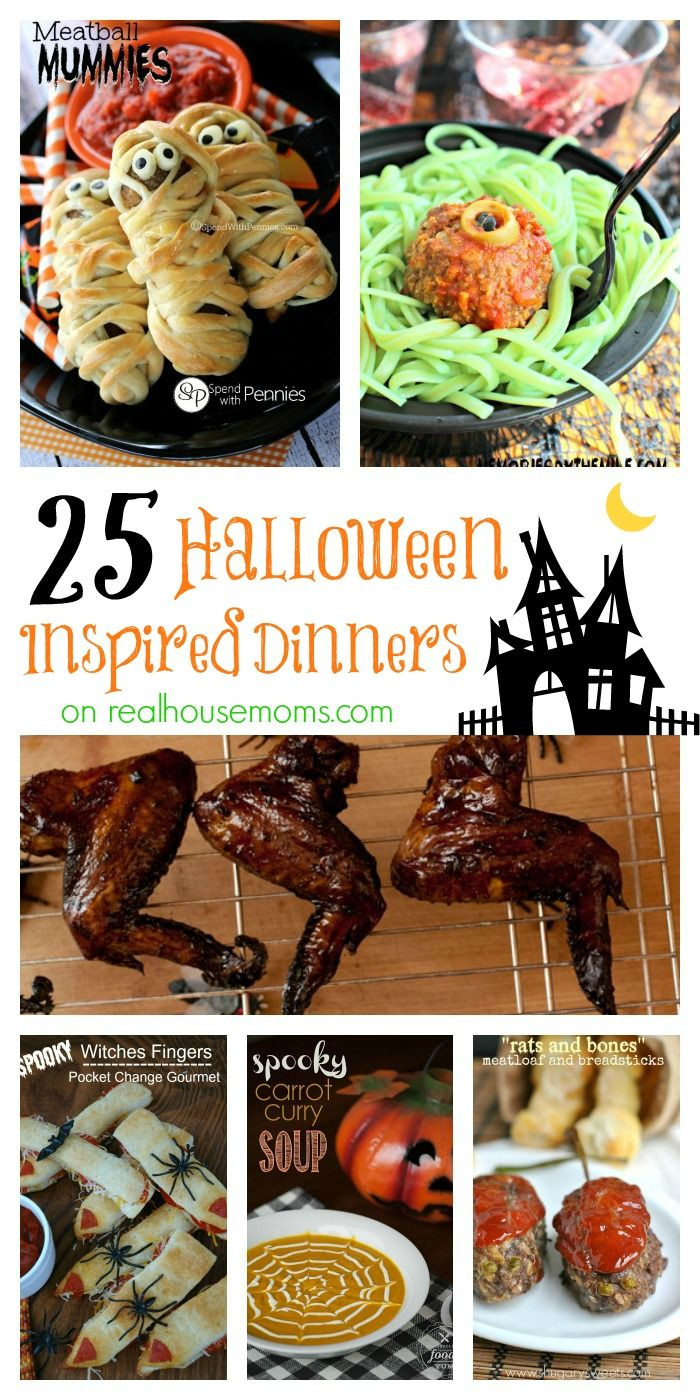 Halloween Inspired Dinners  25 Halloween Inspired Dinners