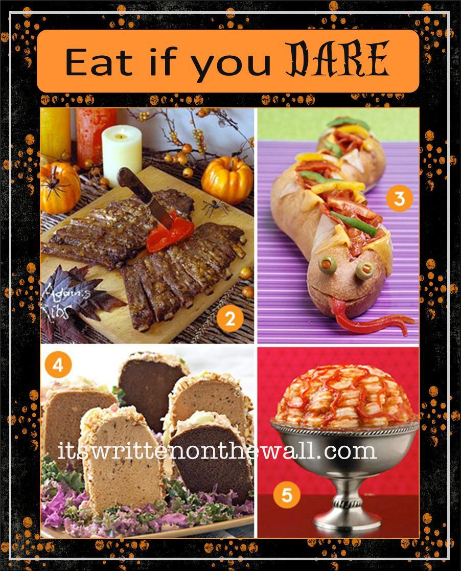 Halloween Inspired Dinners  It s Written on the Wall 39 Halloween Themed Dinners Get