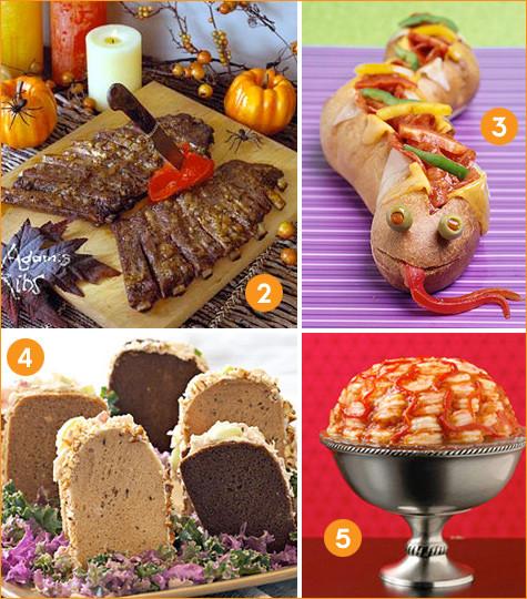 Halloween Inspired Dinners  Creative Halloween Dinner Ideas Hostess with the Mostess