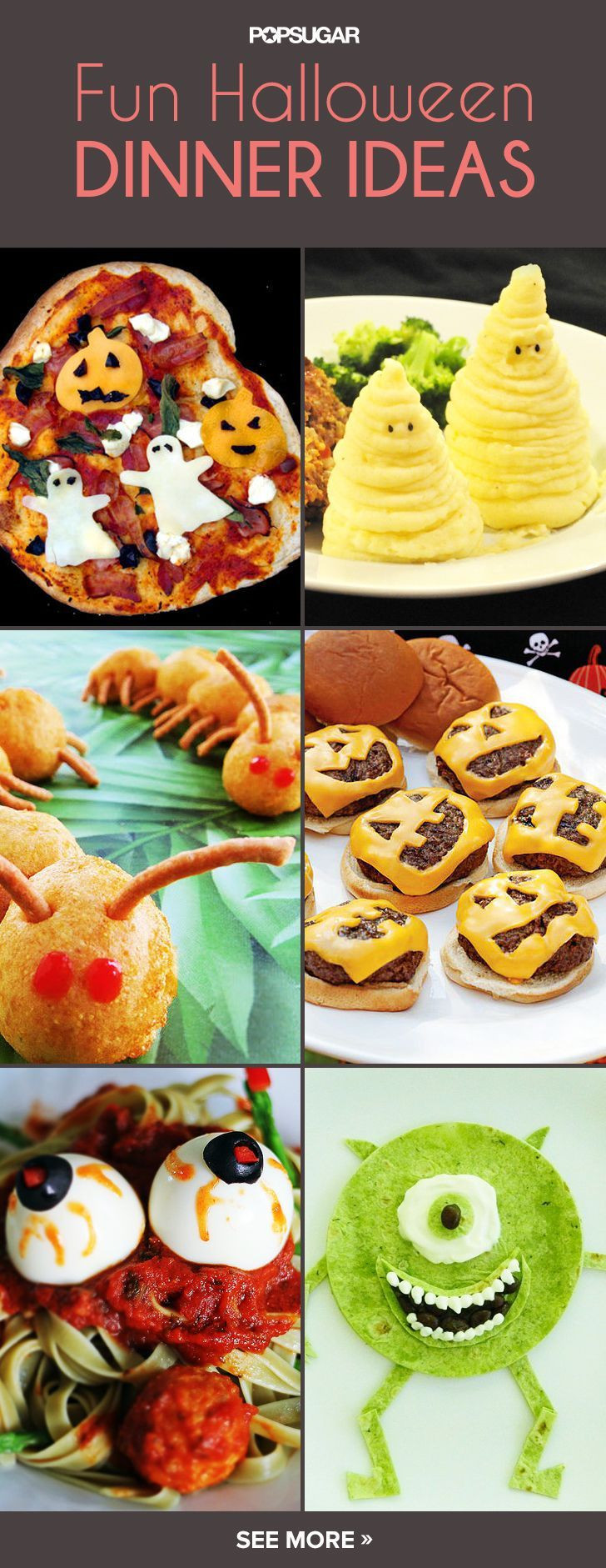 Halloween Inspired Dinners  Spooktacular Eats 11 Fun Halloween Dinner Ideas