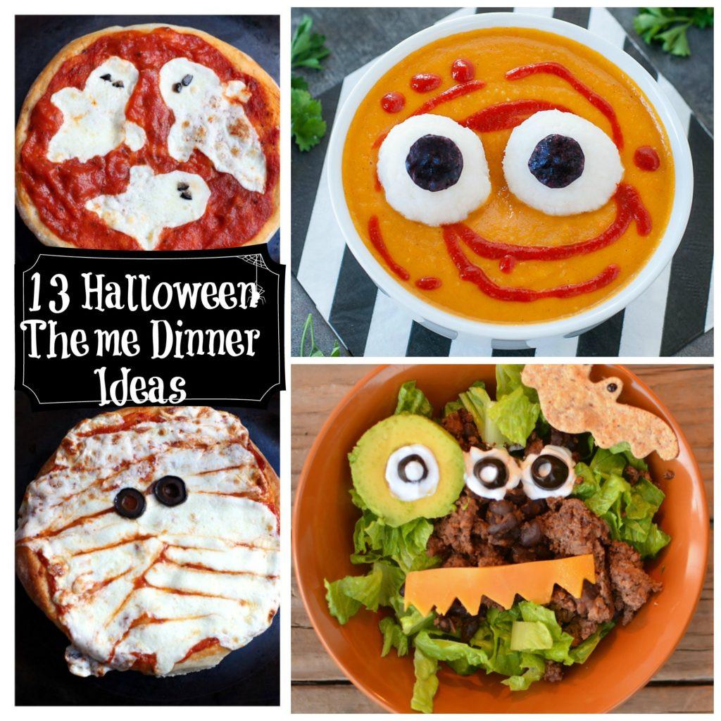 Halloween Inspired Dinners  13 Healthy Halloween Themed Dinner Ideas