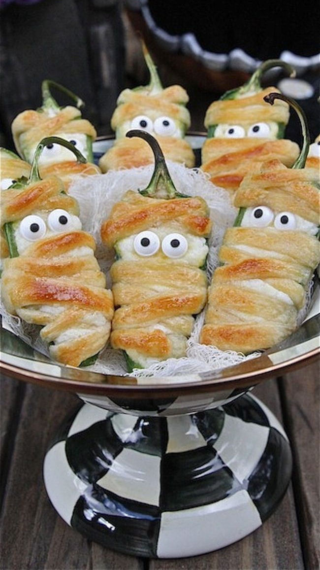 Halloween Jalapeno Poppers  Halloween Jalapeno Poppers s and