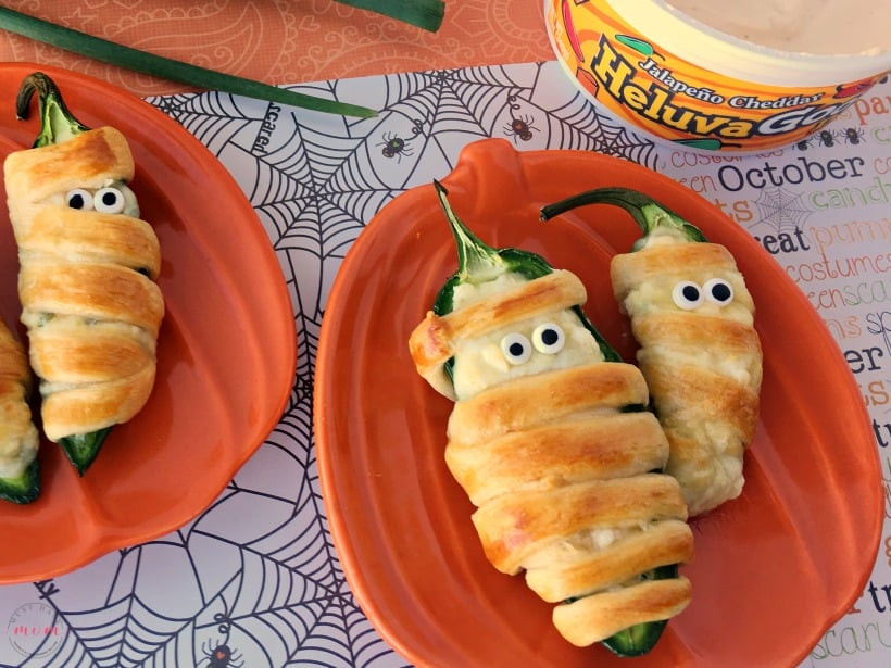 Halloween Jalapeno Poppers  Halloween Mummy Jalapeno Poppers In Oven Recipe Must