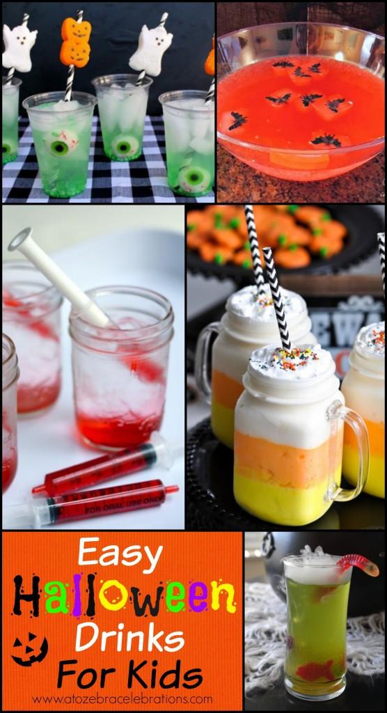 Halloween Kid Drinks  Halloween Drinks for Kids – A to Zebra Celebrations