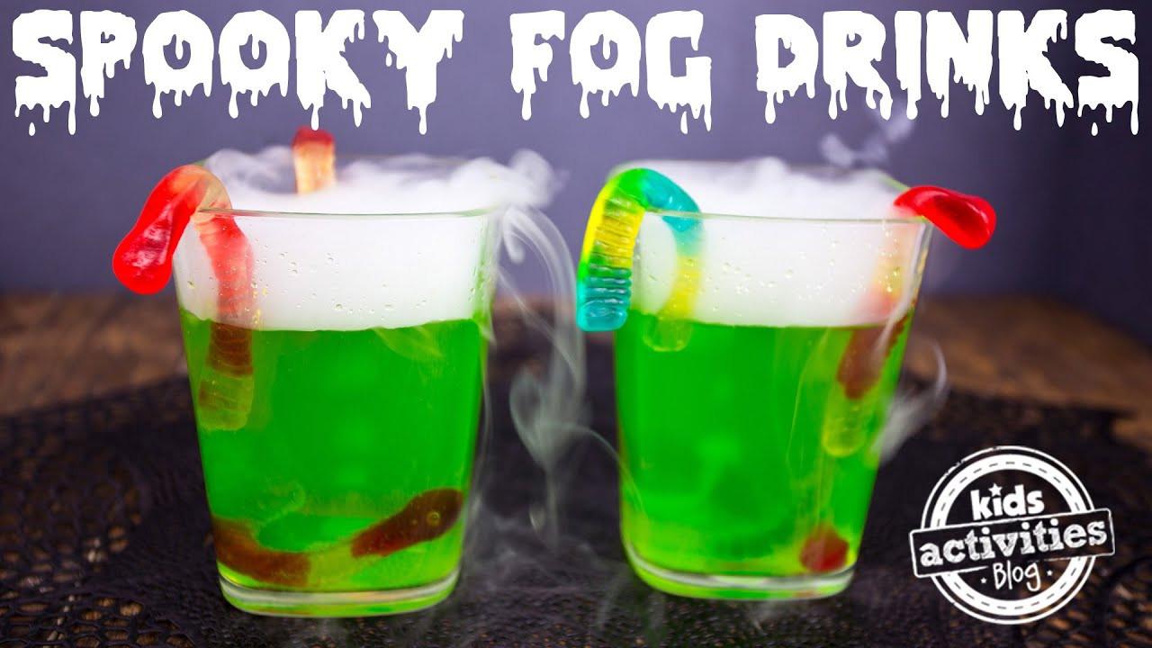 Halloween Kid Drinks  Spooky Fog Drinks for a Halloween Party