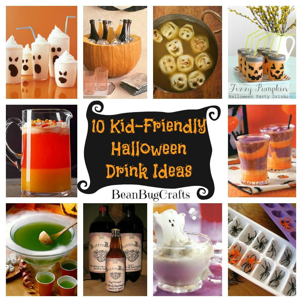 Halloween Kid Drinks  BeanBugCrafts Ten Halloween Kid Friendly Drink Ideas