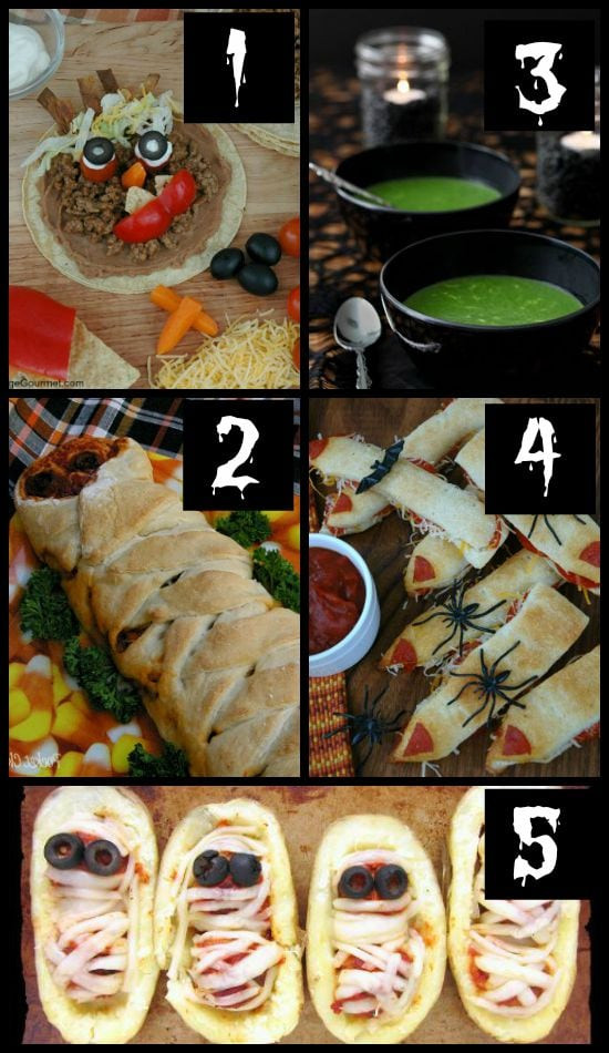 Halloween Main Dishes  50 MORE Halloween Food Ideas The Dating Divas