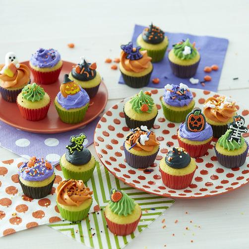 Halloween Mini Cupcakes  18 Spooky Halloween Treats