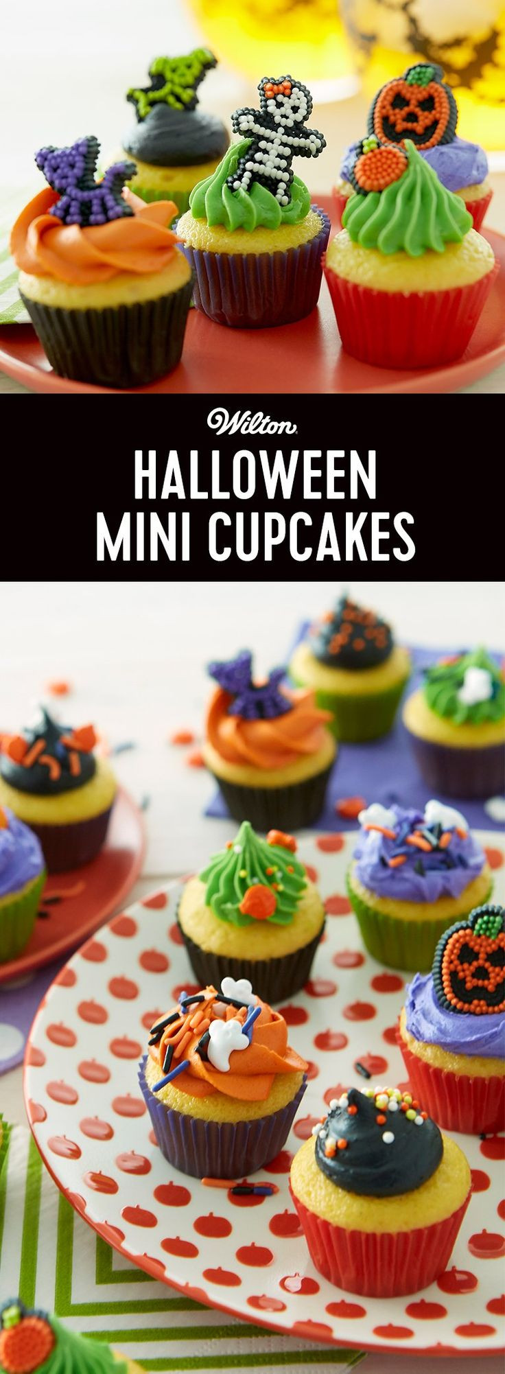 Halloween Mini Cupcakes  387 best Moore Wilton images on Pinterest