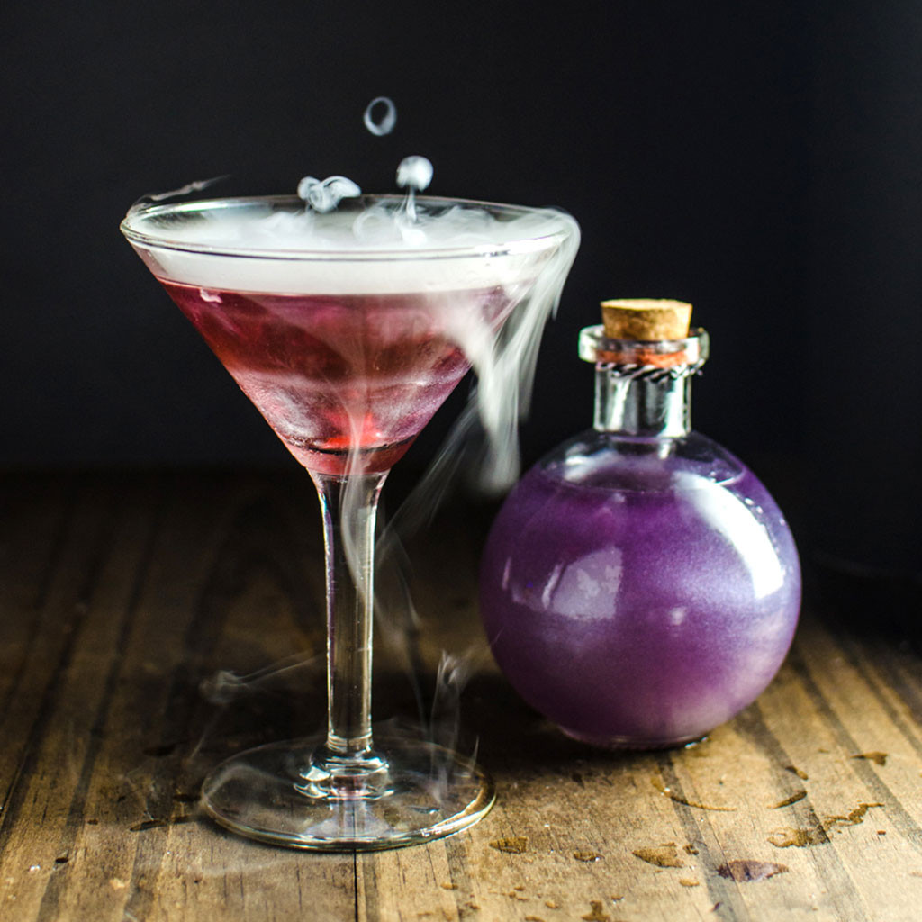 Halloween Mixed Drinks  These Creepy Halloween Drinks Will Have You Saying 'Booyah
