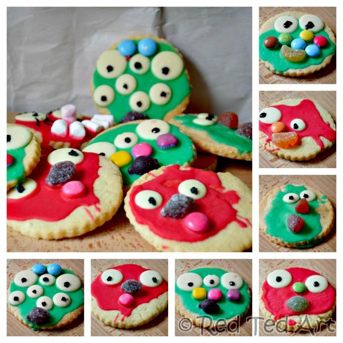 Halloween Monster Cookies  Monster Cookies Easy Baking for Kids