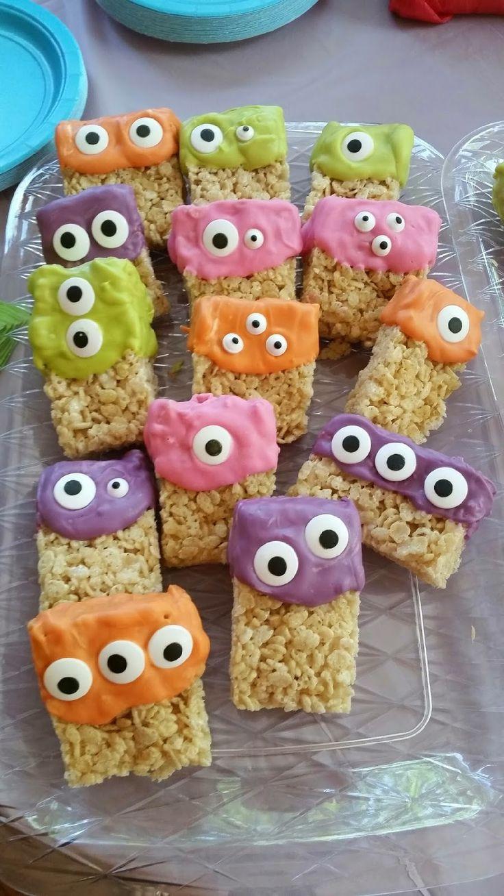 Halloween Monster Cookies  Eyeball Treats