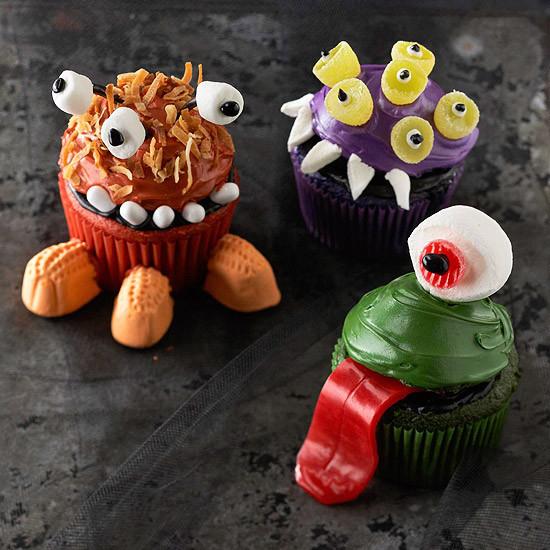 Halloween Monster Cupcakes  BEST Halloween Treats
