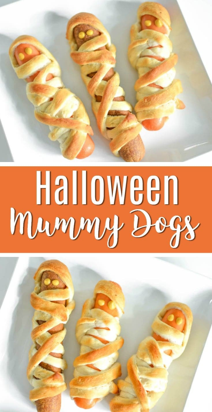 Halloween Mummy Hot Dogs  Mummy Hot Dogs Recipe