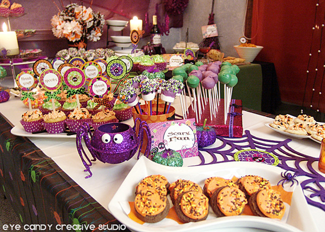 Halloween Party Desserts  Eye Candy Creative Studio REAL PARTY Halloween Party