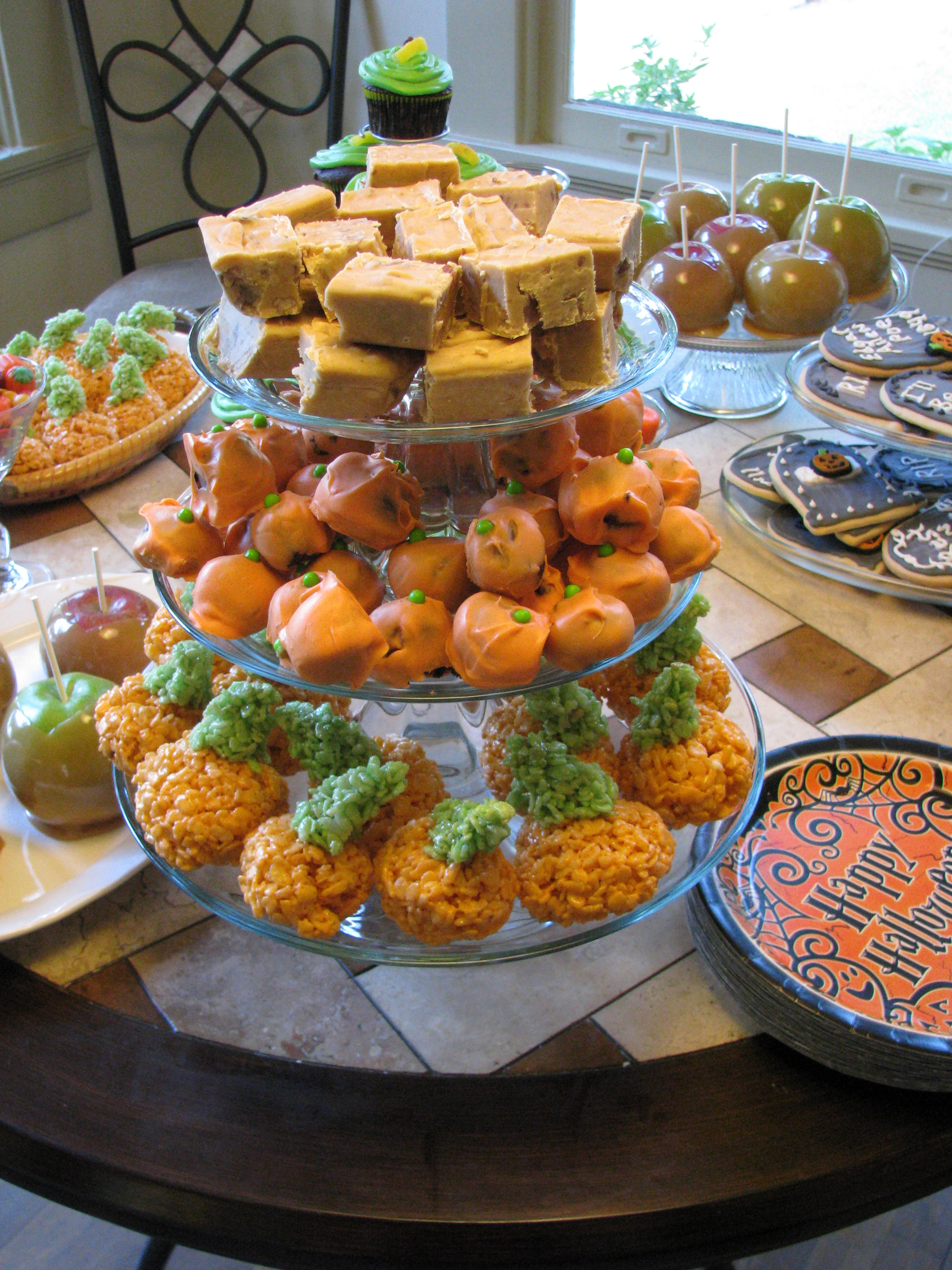 Halloween Party Desserts  The Halloween Party Part 2–Desserts
