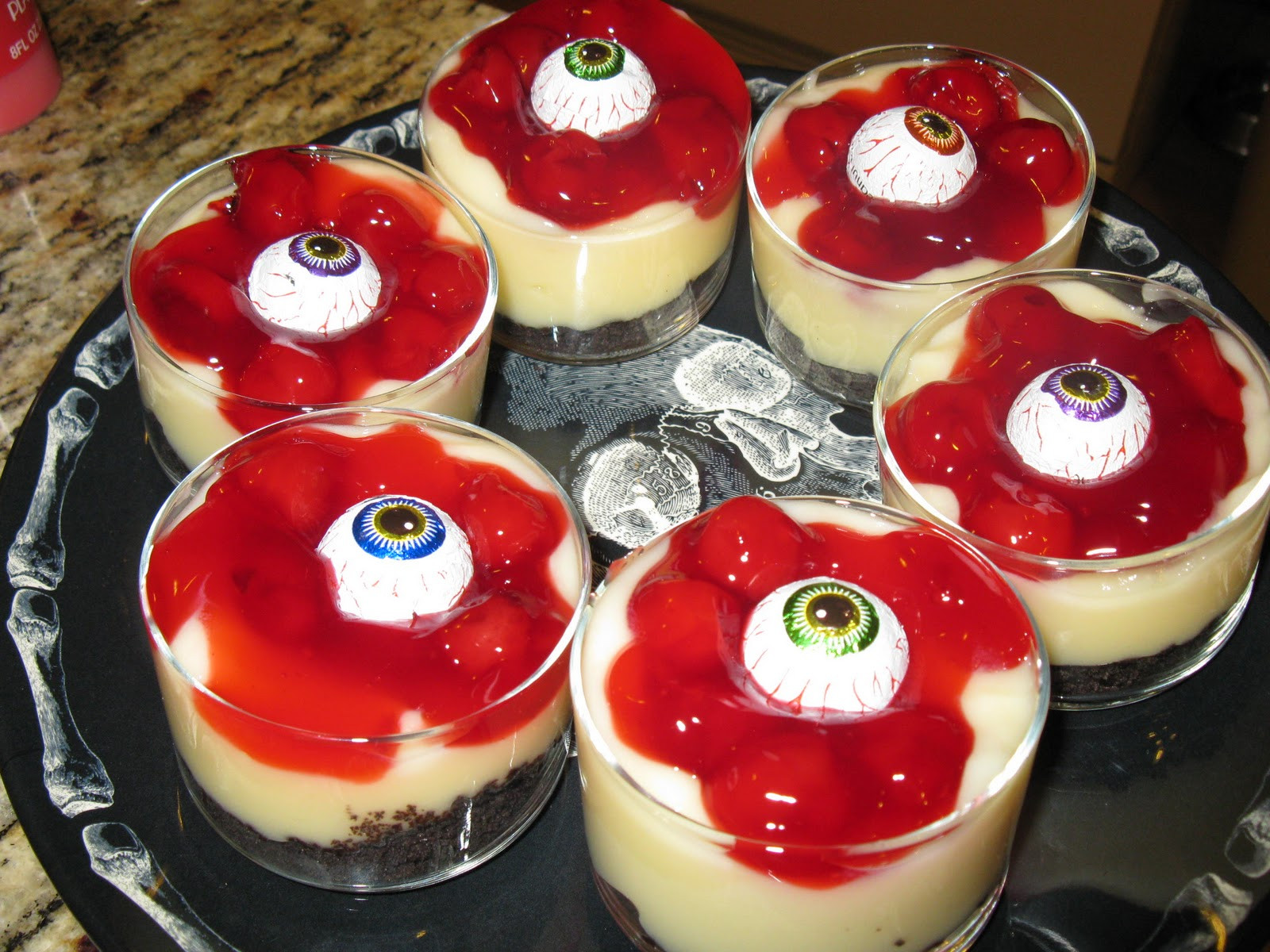 Halloween Party Desserts  What You Make it Day 27 of 31 Spooktacular Blood and