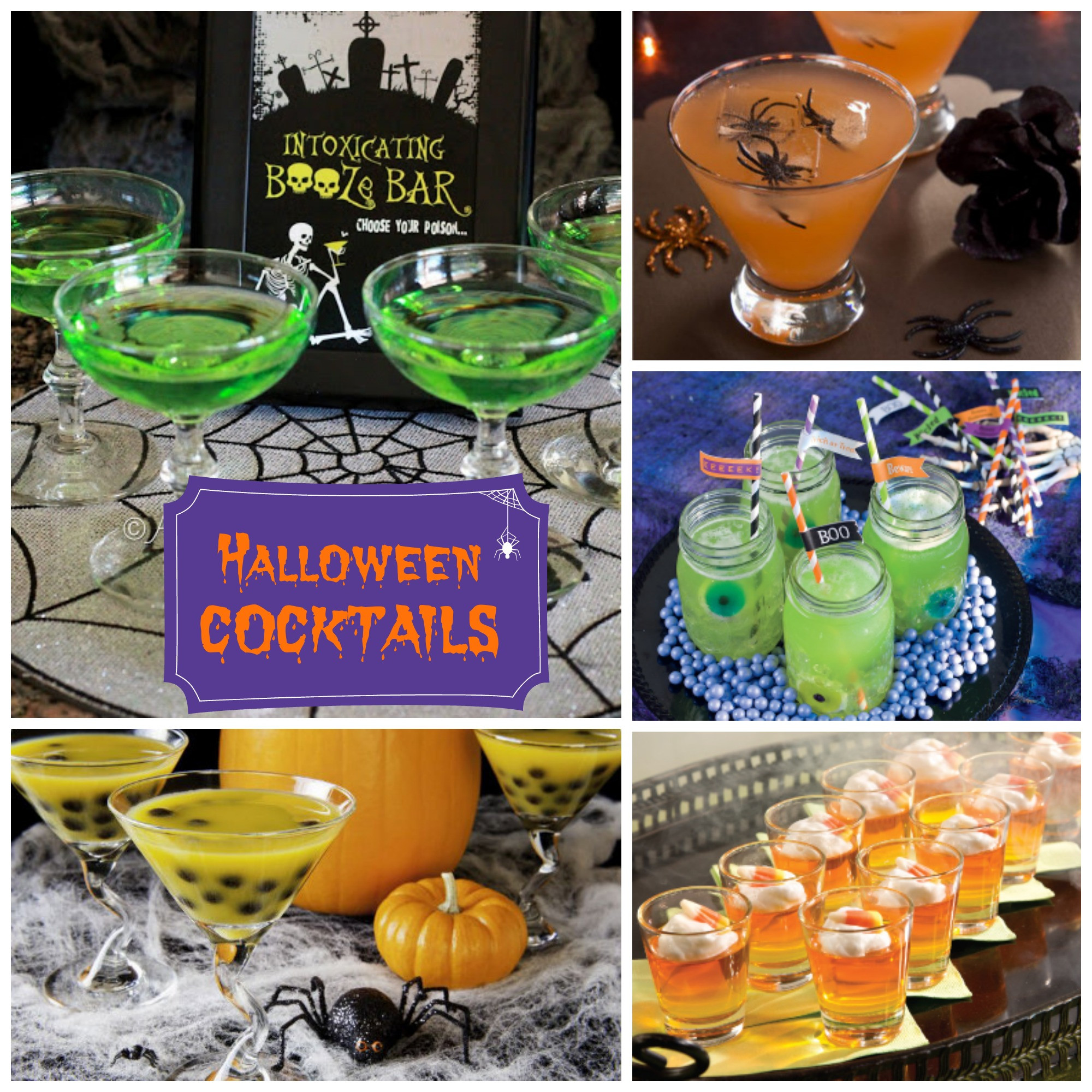 Halloween Party Drinks For Adults  Adult Halloween Cocktails – A to Zebra Celebrations