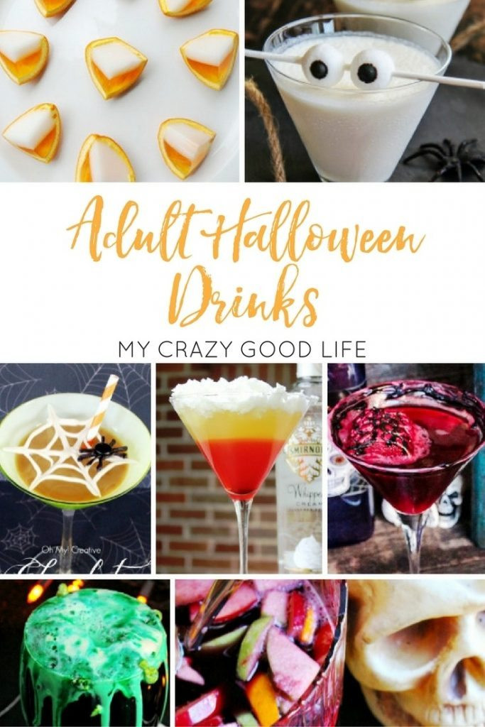 Halloween Party Drinks For Adults  Adult Halloween Drinks