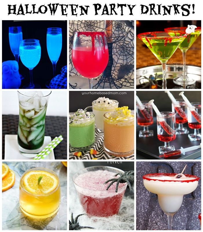 Halloween Party Drinks  Halloween Party Drinks 10 Spooky Ideas alcoholic and