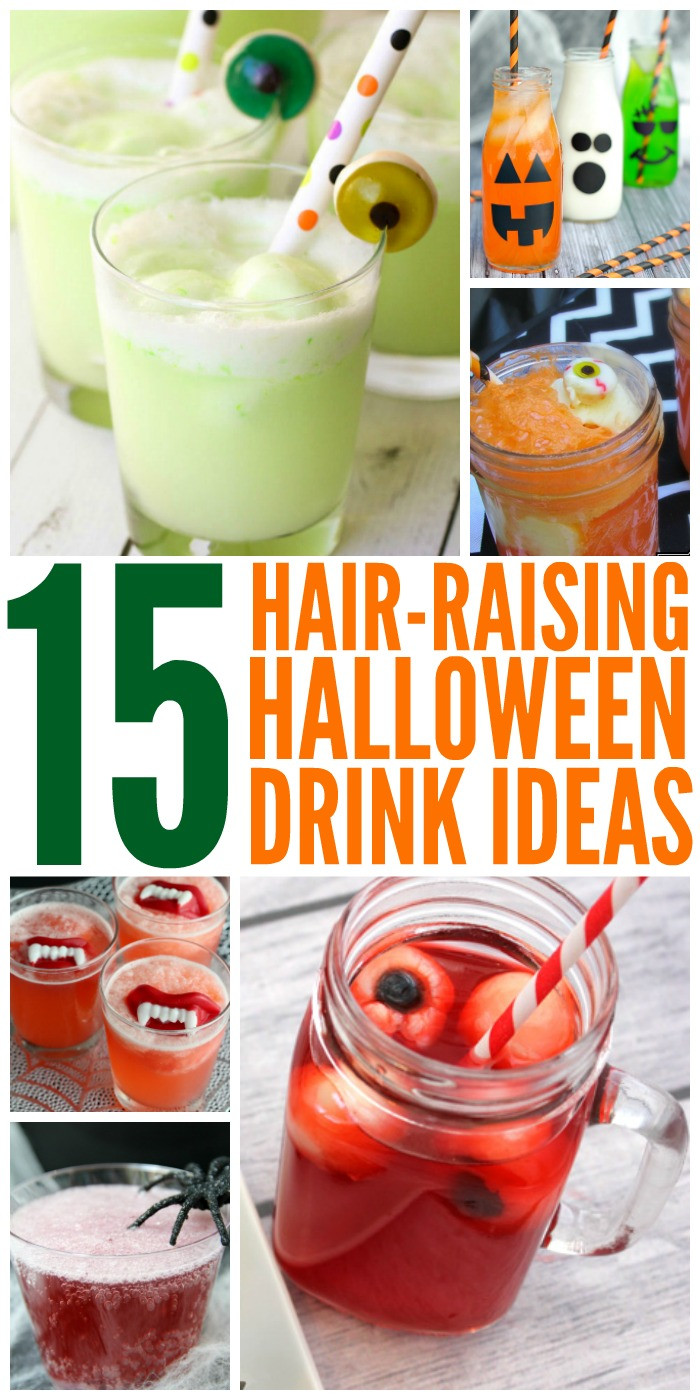 Halloween Party Drinks  15 Hair Raising Halloween Drink Ideas