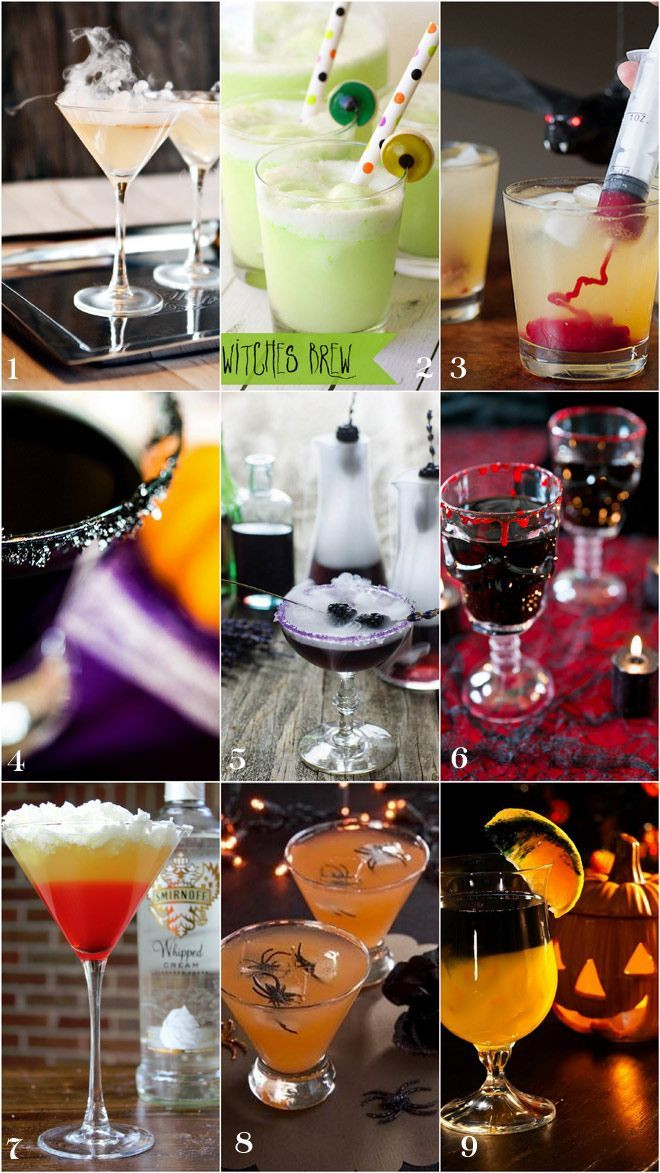 Halloween Party Drinks  247 best images about Halloween parties on Pinterest