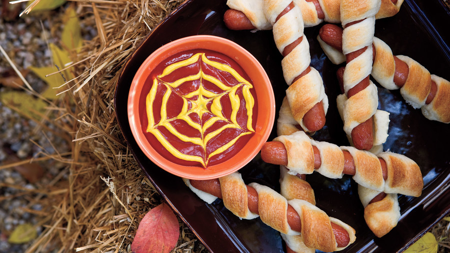 Halloween Party Main Dishes  Halloween Party Appetizers Finger Food & Drink Recipes
